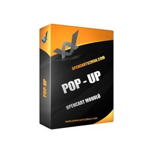 Opencart Pop-Up Modülü Kullanımı