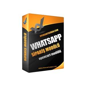 Opencart Whatsapp Sipariş Modülü Kullanımı