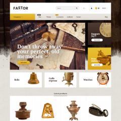 Opencart Antika Malzemeler ve Aksesuarlar Teması