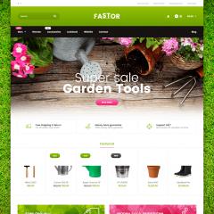 Opencart Bahçe Bakım Malzemeleri Teması