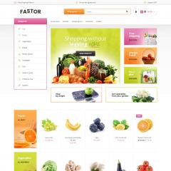 Opencart Meyve ve Sebze Teması