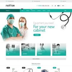 Opencart Doktor ve Hemşire Malzemeleri Teması