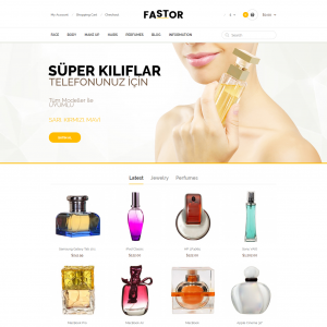 Opencart Esans ve Parfüm Teması Kullanım Kılavuzu