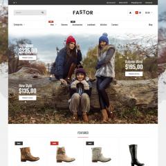 Opencart Yeni Sezon Kışlık Ayakkabı Teması