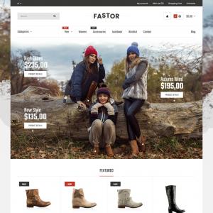 Opencart Yeni Sezon Kışlık Ayakkabı Teması Kullanım Kılavuzu