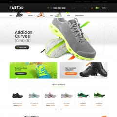 Opencart Spor Ayakkabı Teması