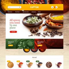 Opencart Baharat ve Aroma Teması