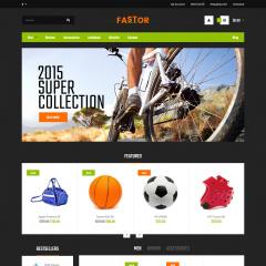 Opencart Sporcu Ekipmanları Teması