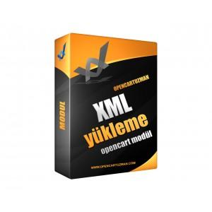 Opencart XML Yükleme Modülü Kullanımı