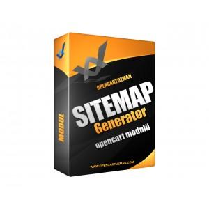 Opencart Sitemap Generator Modülü Kullanımı