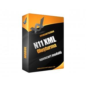 Opencart XML Export - N11 Modülü Kullanımı