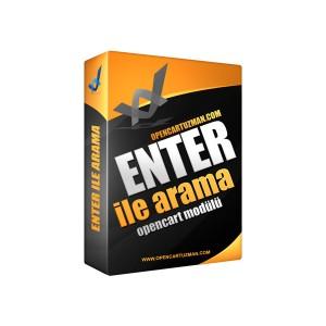 Opencart Enter İle Arama